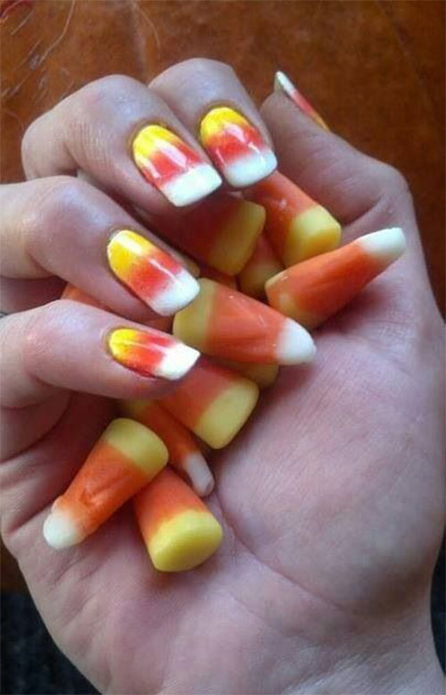 25-Easy-Simple-Halloween-Candy-Corn-Nails-Art-Ideas-2018-4