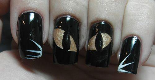 25-Very-Easy-Simple-Halloween-Nails-Art-Designs-2018-13