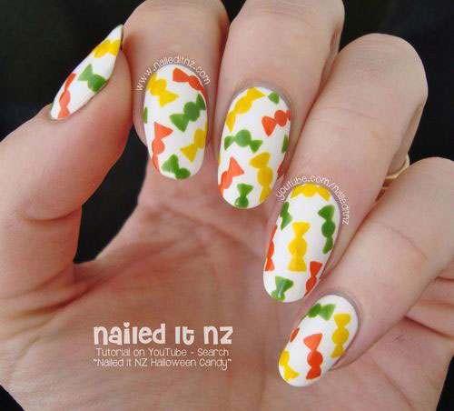 25 Very Easy Simple Halloween Nails Art Designs 2018 Idea Halloween
