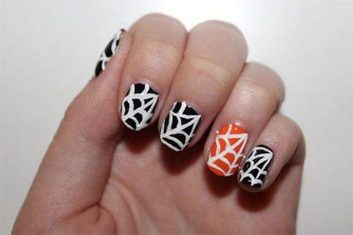 25-Very-Easy-Simple-Halloween-Nails-Art-Designs-2018-7