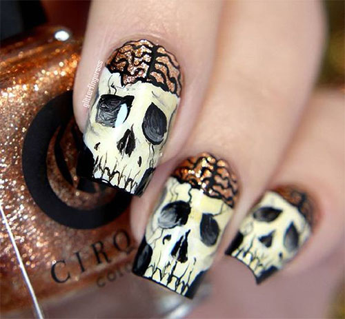 30-Halloween-Skull-Nail-Art-Designs-Ideas-2018-Monster-Nails-18