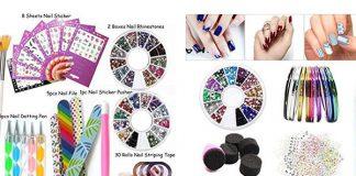 Complete-Nail-Art-Tools-Kit-Set-For-Girls-Women-2018-F