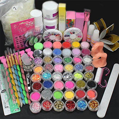 Complete Professional Nail Art Tools Kit Set For Girls Women
