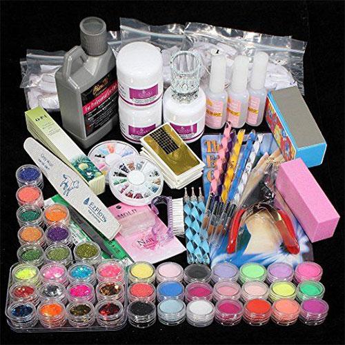 Complete-Nail-Art-Tools-Kit-Set-For-Girls-Women-2018-2