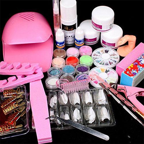 Complete-Nail-Art-Tools-Kit-Set-For-Girls-Women-2018-3