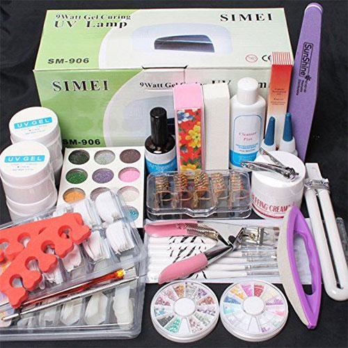Complete-Nail-Art-Tools-Kit-Set-For-Girls-Women-2018-4