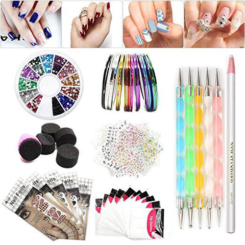 Complete-Nail-Art-Tools-Kit-Set-For-Girls-Women-2018-6