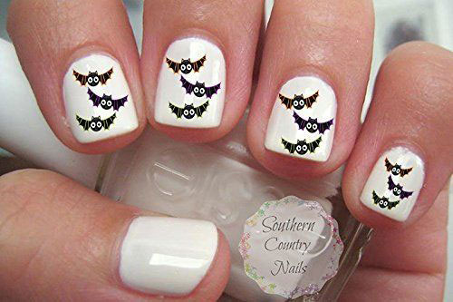 Halloween-Bat-Nails-Stickers-Decals-2018-4