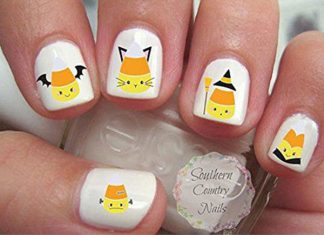 Halloween-Candy-Corn-Nails-Art-Decals-2018-F