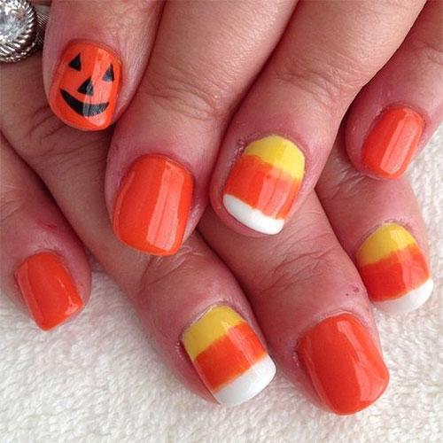 Halloween-Inspired-Nails-Art-Designs-Ideas-For-Kids-2018-1