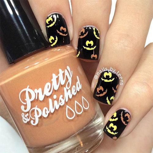 Halloween-Inspired-Nails-Art-Designs-Ideas-For-Kids-2018-2