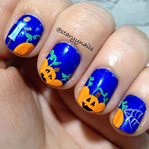 Halloween Inspired Nails Art Designs & Ideas For Kids 2018 ...