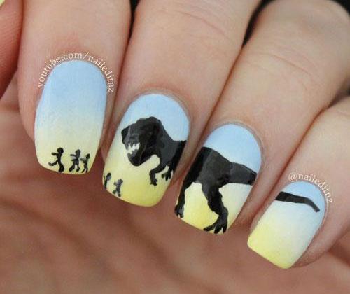 Halloween-Inspired-Nails-Art-Designs-Ideas-For-Kids-2018-6