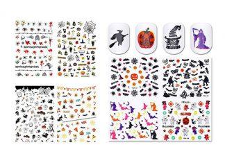 Halloween-Themed-3d-Nail-Art-Stickers-2018-3D-Nails-F