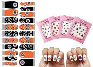Simple-Halloween-Nail-Decals-For-Girls-Women-2018-F
