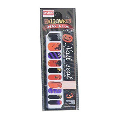 Very-Simple-Halloween-Nail-Stickers-For-Girls-Women-2018-2