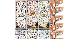 Very-Simple-Halloween-Nail-Stickers-For-Girls-Women-2018-F