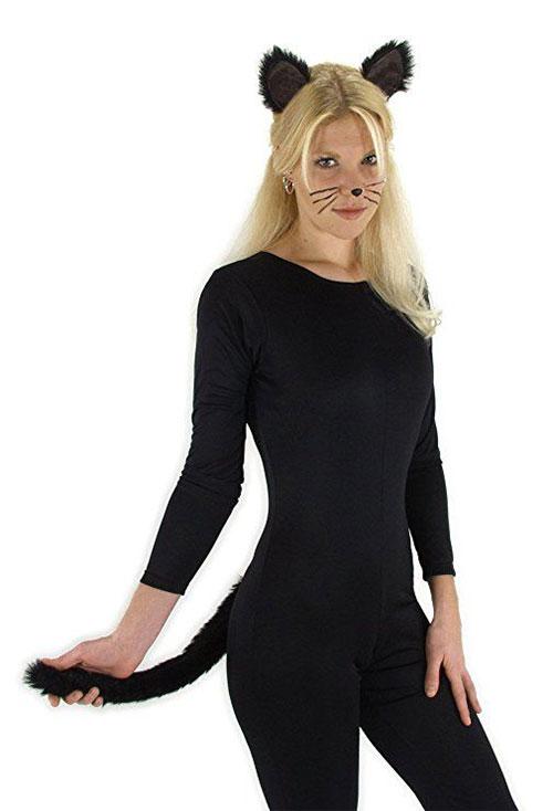 12 Black Cat Halloween Costume Ideas For Kids Girls Boys