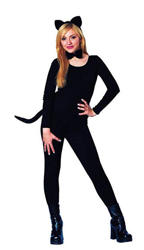 12-Black-Cat-Halloween-Costume-Ideas-For-Kids-Girls-Boys-2018-4