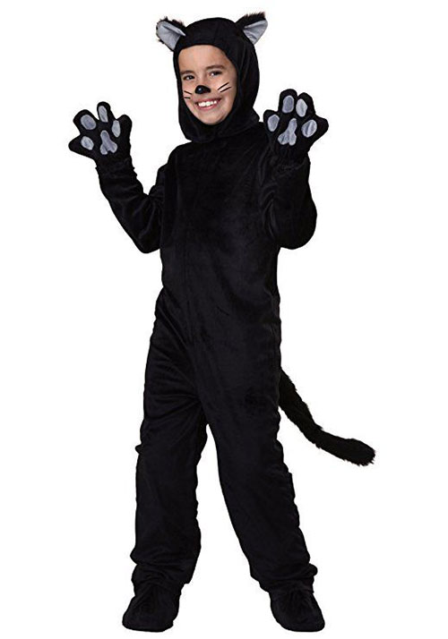 12 black cat halloween costume ideas for kids