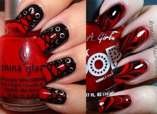 18-Black-Red-Halloween-Inspired-Nails-Art-Ideas-2018-F