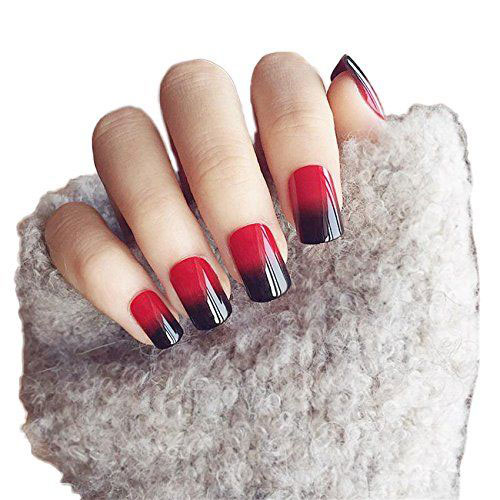 Black-Red-Halloween-Inspired-Nails-Stickers-Decals-2018-3