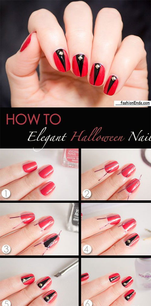 Black-Red-Halloween-Nail-Tutorial-For-Beginners-2018-1