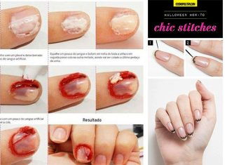 Easy-Simple-Zombie-Halloween-Nail-Art-Tutorials-For-Beginners-2018-F