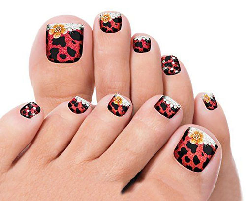 Halloween-Inspired-Toe-Nails-Stickers-Decals-2018-2
