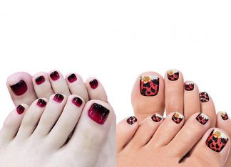 Halloween-Inspired-Toe-Nails-Stickers-Decals-2018-F