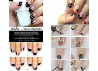 Step-By-Step-Black-Cat-Halloween-Nail-Tutorials-For-Learners-2018-F