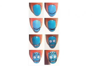 Step-By-Step-Skull-Halloween-Nail-Art-Tutorials-For-Beginners-2018-F