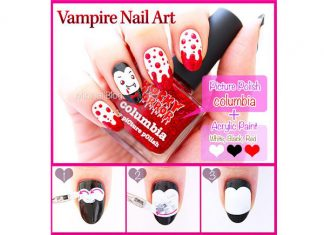 Step-By-Step-Vampire-Halloween-Nail-Art-Tutorials-For-Beginners-2018-F