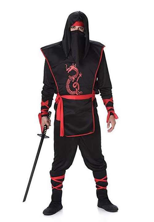 15-Ninja-Halloween-Costumes-For-Kids-Girls-Women-  sc 1 st  Idea Halloween & 15 Ninja Halloween Costumes For Kids Girls Women u0026 Men 2018 - Idea ...