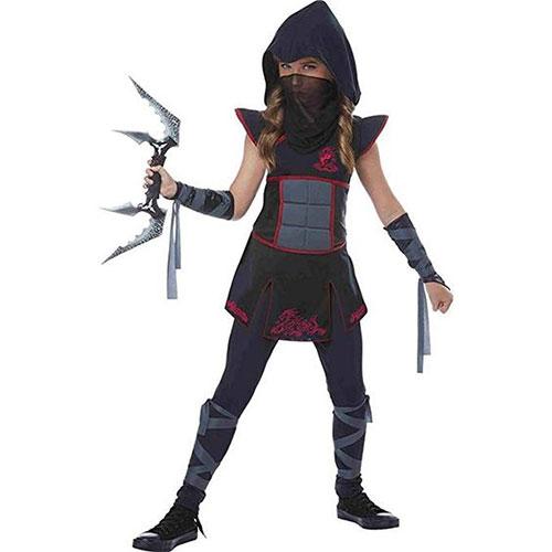 Ninja Avengers Series 4 with Armor Costume Halloween Fancy Dress