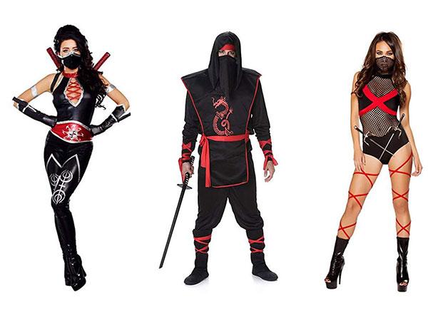 Ninja Halloween Costume Men.15 Ninja Halloween Costumes For Kids Girls Women Men 2018 Idea