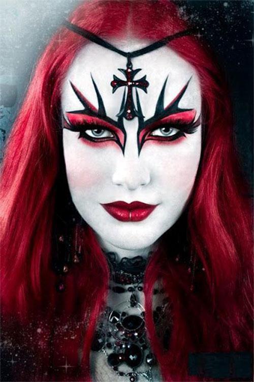 12-Gothic-Halloween-Makeup-Ideas-Styles-Looks-2018-1