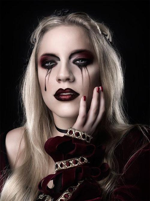 12-Gothic-Halloween-Makeup-Ideas-Styles-Looks-2018-2