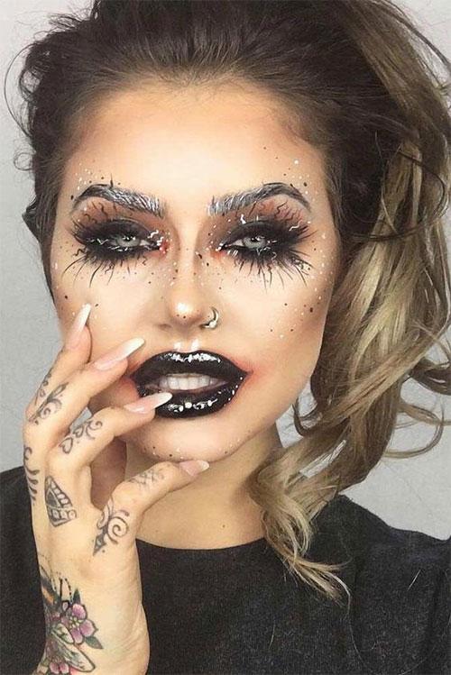 12-Gothic-Halloween-Makeup-Ideas-Styles-Looks-2018-3