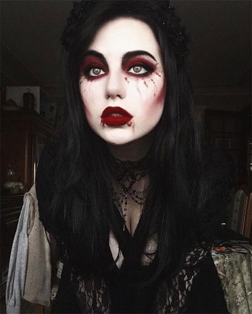 12-Gothic-Halloween-Makeup-Ideas-Styles-Looks-2018-4