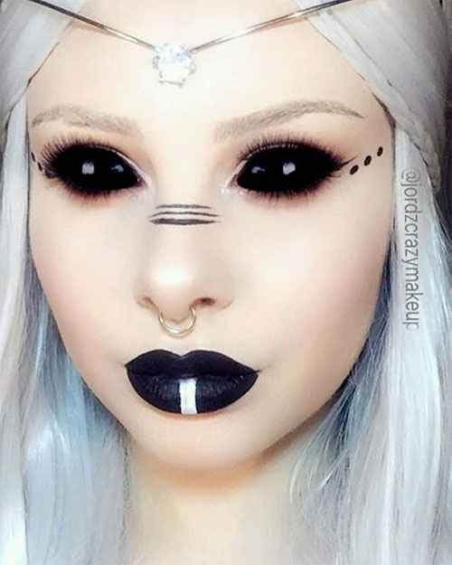 12-Gothic-Halloween-Makeup-Ideas-Styles-Looks-2018-6