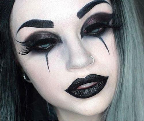 12-Gothic-Halloween-Makeup-Ideas-Styles-Looks-2018-8