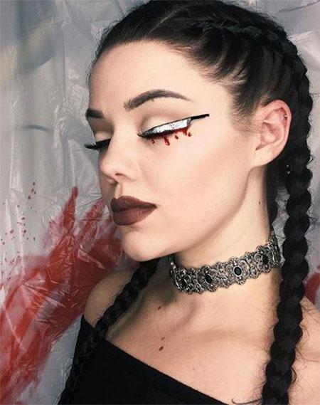 Basic Halloween Makeup Easy.12 Last Minute Easy Halloween Makeup Ideas Looks 2018