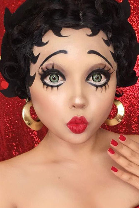 Halloween Makeup Ideas Easy Makeup Looks.12 Last Minute Easy Halloween Makeup Ideas Looks 2018 Idea Halloween