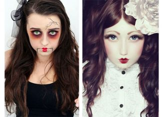 15-Doll-Halloween-Face-Makeup-Ideas-Looks-2018-F