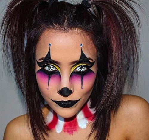 Halloween Makeup Easy Clown.15 Easy Clown Halloween Makeup Ideas Looks 2018 Idea
