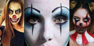 Halloween Makeup Easy Clown.Clown Halloween Makeup Ideas 2018 Archives Idea Halloween
