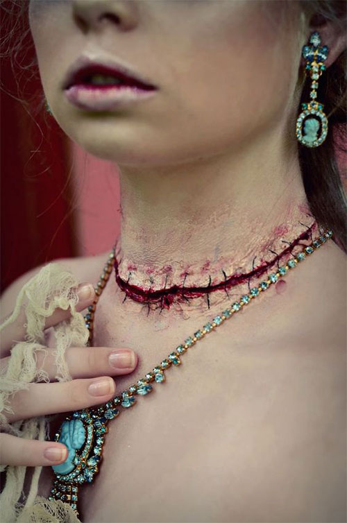 15-Horror-Halloween-Neck-Makeup-Ideas-Styles-Looks-2018-9