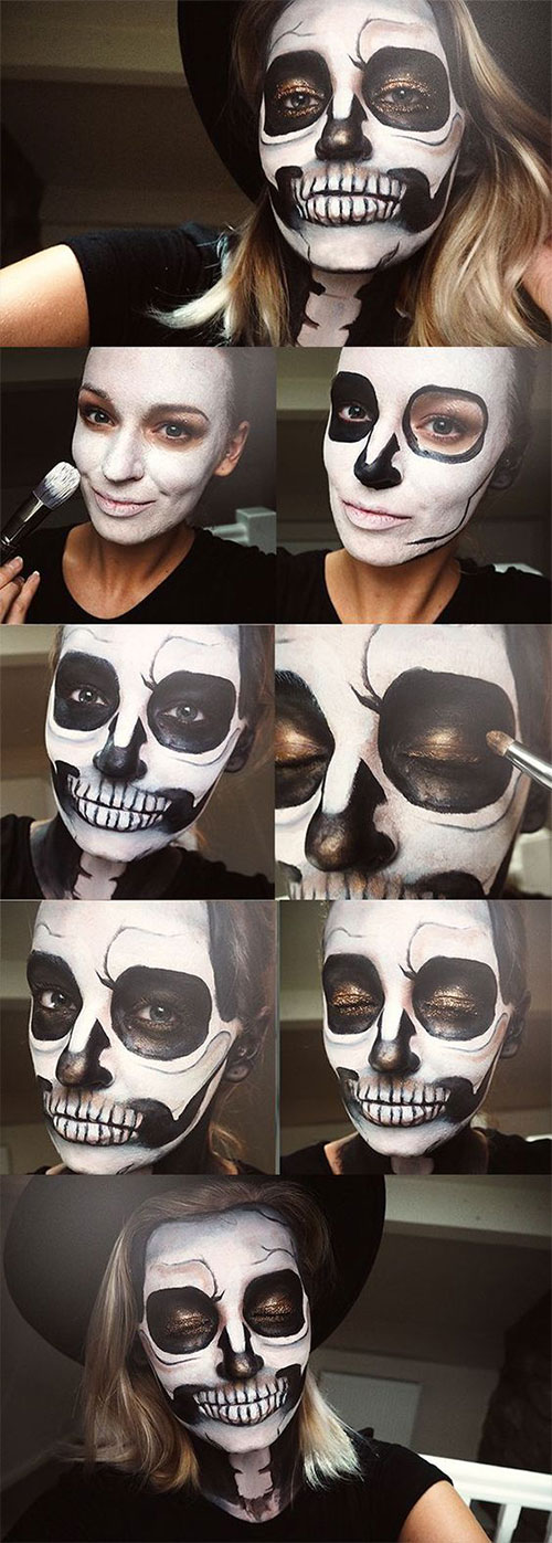 15-Simple-Step-By-Step-Halloween-Face-Makeup-Tutorials-For-Learners-2018-10