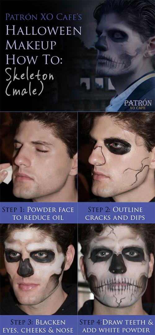 15-Simple-Step-By-Step-Halloween-Face-Makeup-Tutorials-For-Learners-2018-12